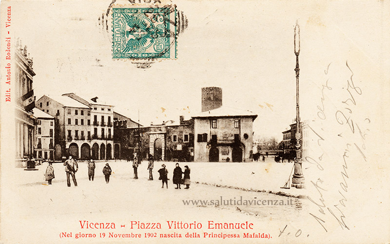 Cartolina commemorativa
