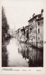 Panorama di Vicenza da Ponte Furo