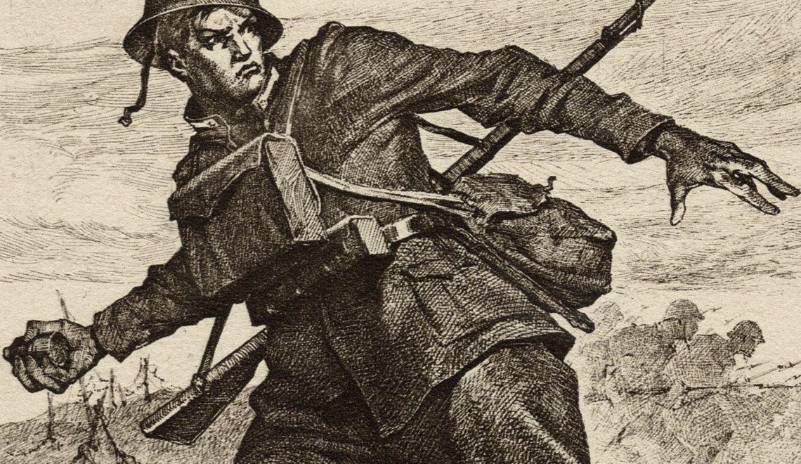 Granatiere di Sardegna all'attacco