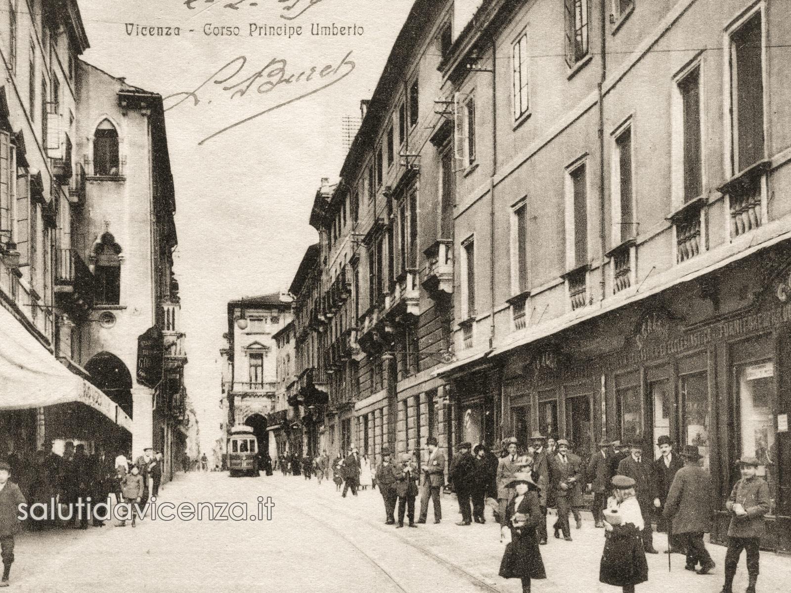 Corso Palladio, cuore di Vicenza