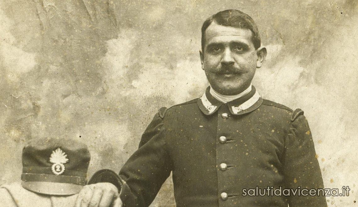 Egidio Boscariolo, 2° Reggimento Granatieri di Sardegna
