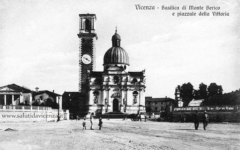Piazzale Della Vittoria a Monte Berico nel 1924
