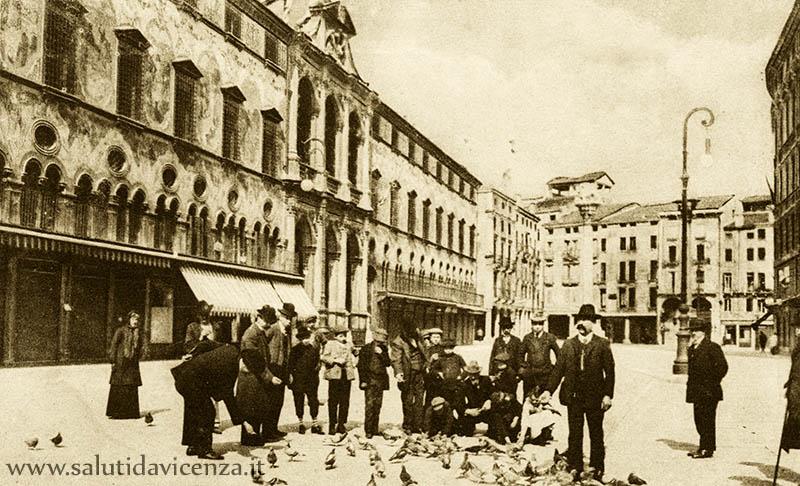 i colombi di piazza (1910)