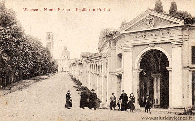 Portici di Monte Berico e Santuario. 1910