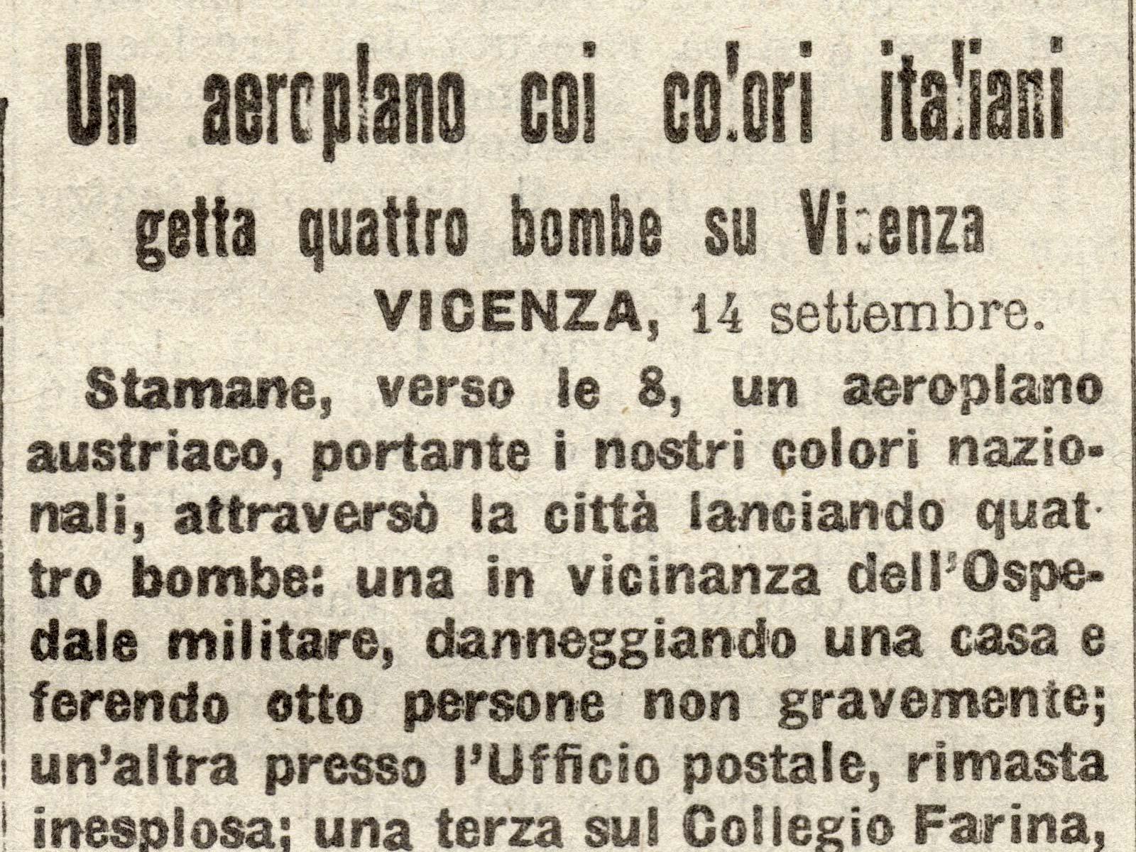 Bombardamenti aerei su Vicenza