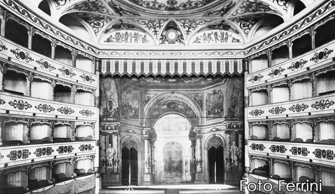 Il Teatro Eretenio a Vicenza, ora Casa di Cura
