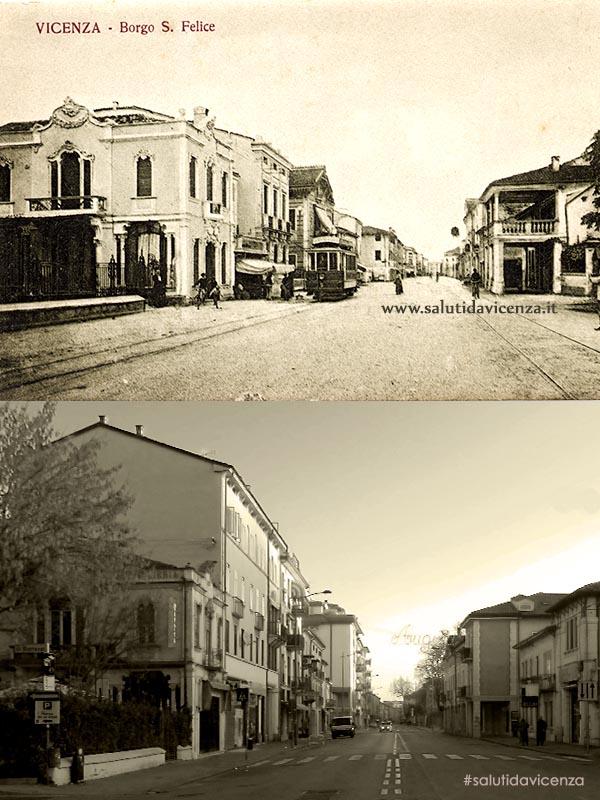 Corso San Felice, Bar Sartea (1915)