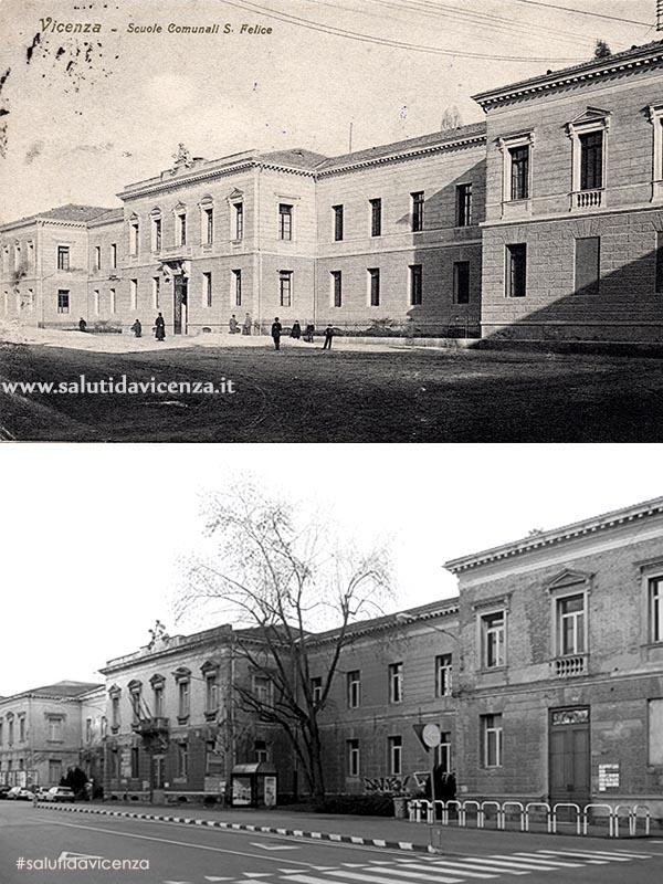 Piazzale Giusti, Scuole Comunali (1915)