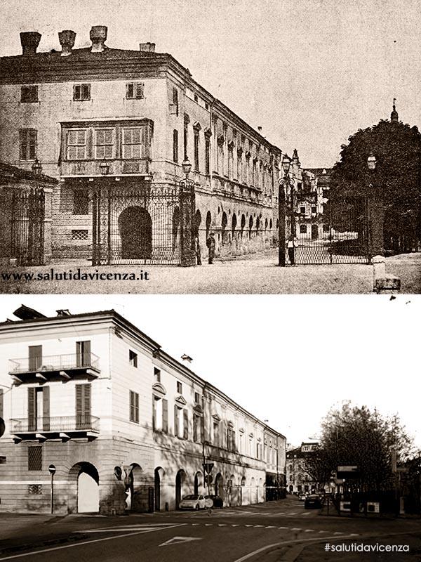 Barriera Eretenia e Palazzo Civena-Trissino (1918)