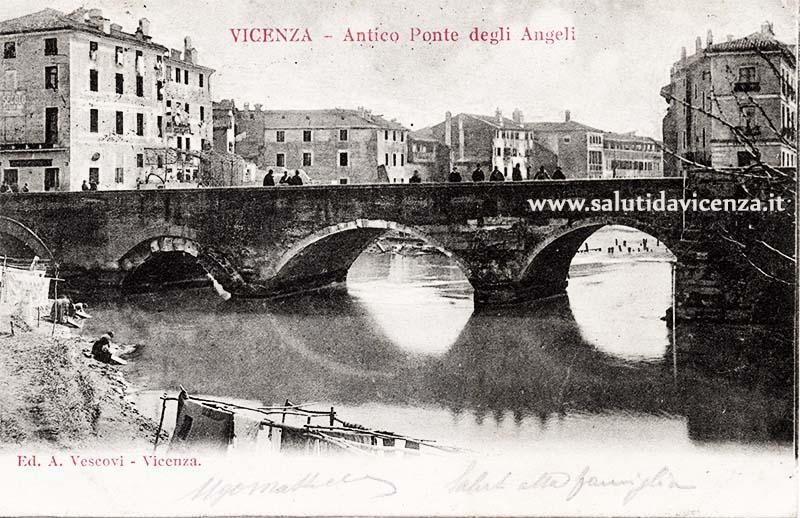 Antico Ponte degli Angeli, 1880 circa