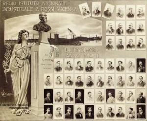 ITIS Rossi Anno Scolastico 1910/11 gli allievi licenziandi