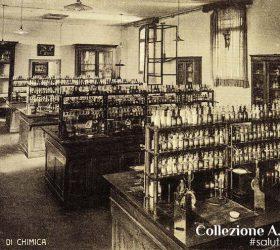 ITIS Rossi, laboratorio di chimica, scuola Santa Corona