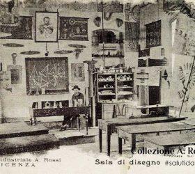 ITIS Rossi, aula di disegno nella vecchia sede a Santa Corona