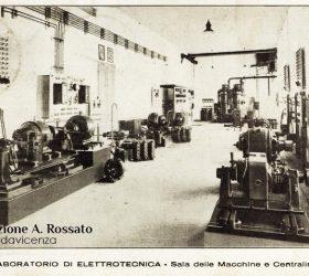 ITIS Rossi, laboratorio di elettrotecnica, sede di Santa Corona