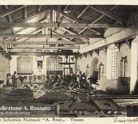 ITIS Rossi, fonderia, scuola di Santa Corona