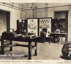 Itis Rossi, laboratorio elettrico, Santa Corona