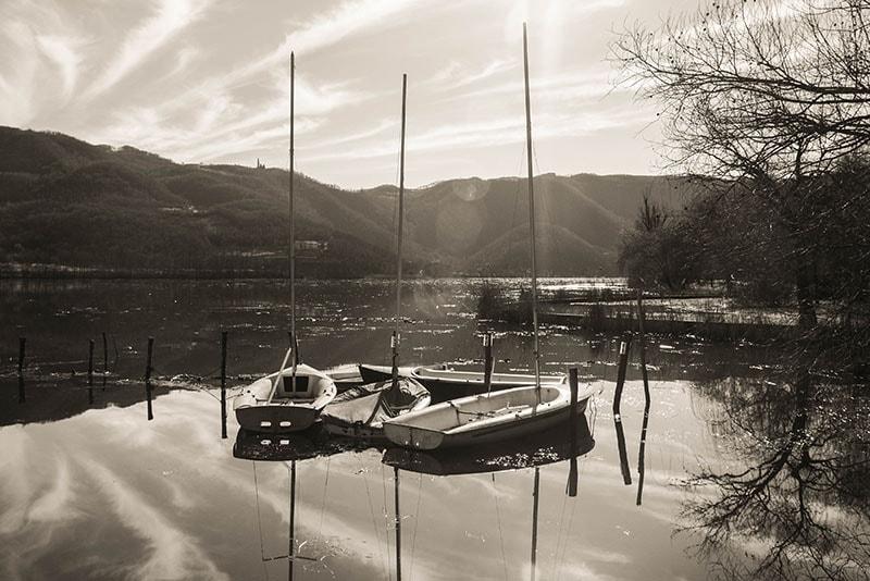 Lago di Fimon, oggi