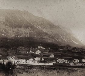 Panorama di Cortina D'Ampezzo - Montagna Bellunese.