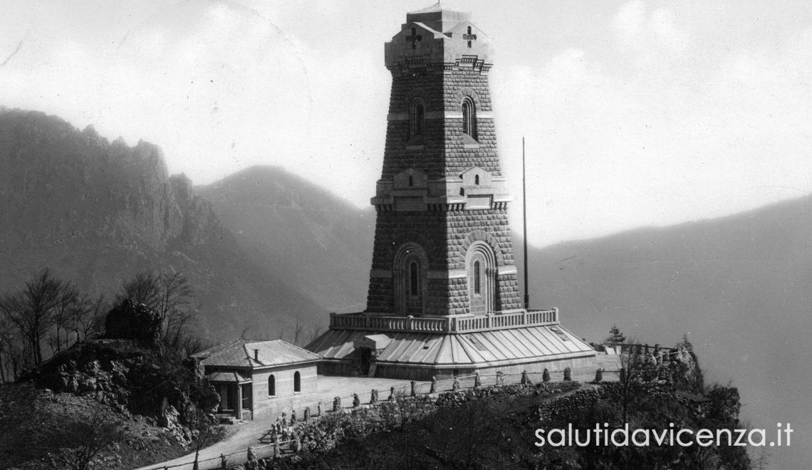 La Grande Guerra nel vicentino. Il Tempio Ossario sul Pasubio.