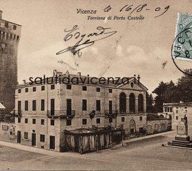 Porta Castello - Piazza Garibaldi, Vicenza