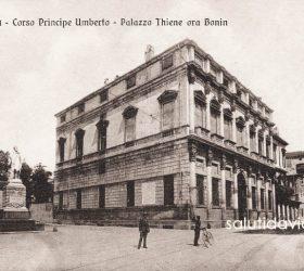 Porta Castello - Palazzo Thiene Bonin Longare, sede dell'Associazione Industriali di Vicenza