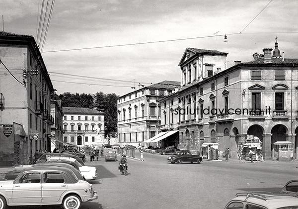 Porta Castello negli anni '50