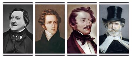 Grandi compositori italiani.
