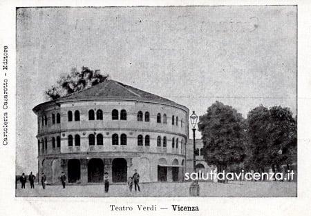 Antico Teatro Verdi in Vicenza.