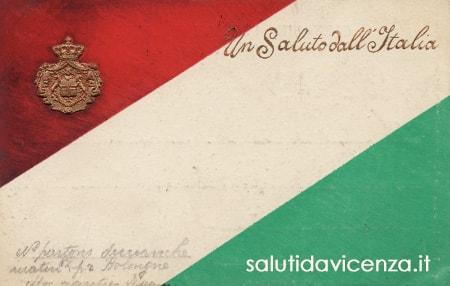 Cartolina commemorativa del Regno d'Italia