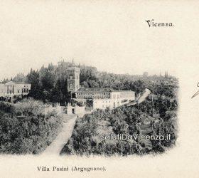 Villa Pasini ad Arcugnano in una cartolina postale del 1900.