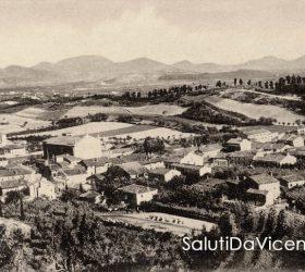Veduta panoramica dai Colli Berici su Barbarano Vicentino, 1940.