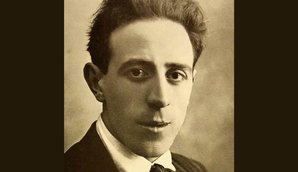 Foto ritratto di Primo Piovesan, attore e giornalista tra le due guerre