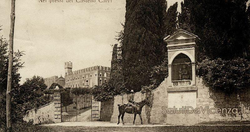 Monte Berico, Vicenza. Castello Calvi.