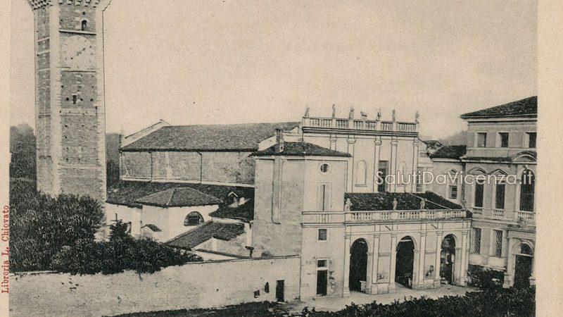 Chiesa di San Felice e Fortunato con il vecchio portico