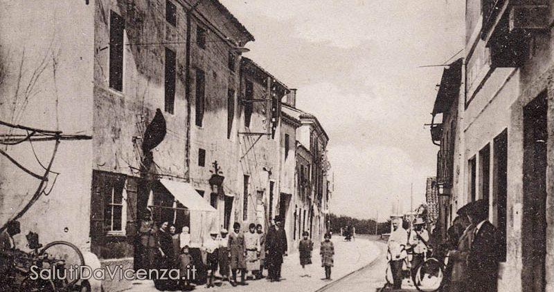 Comune di Longare, cartolina d'epoca.