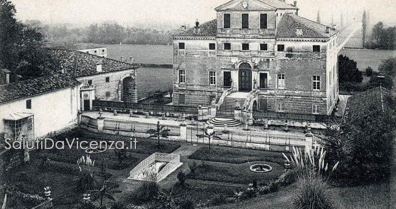 Villa Fracanzan Piovene nel comune di Orgiano, Vicenza.