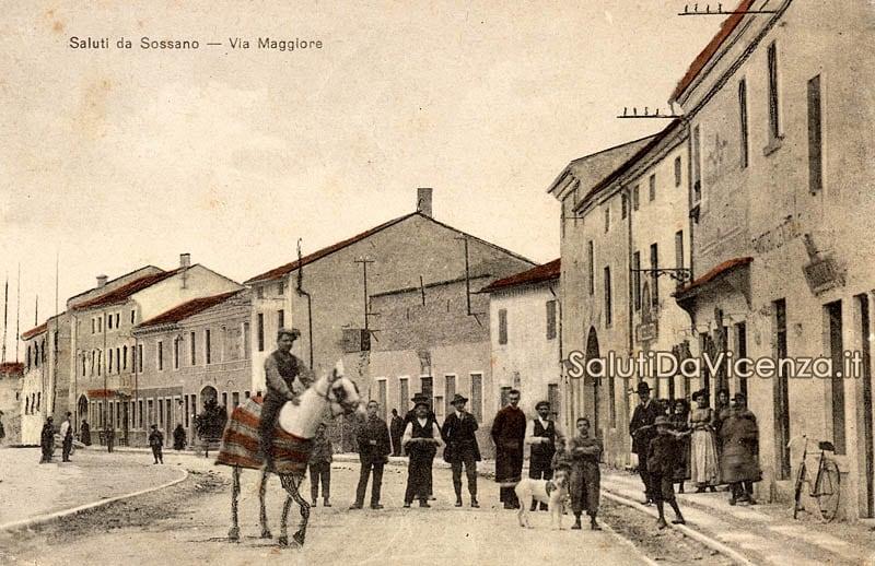 Sossano, Via Maggiore