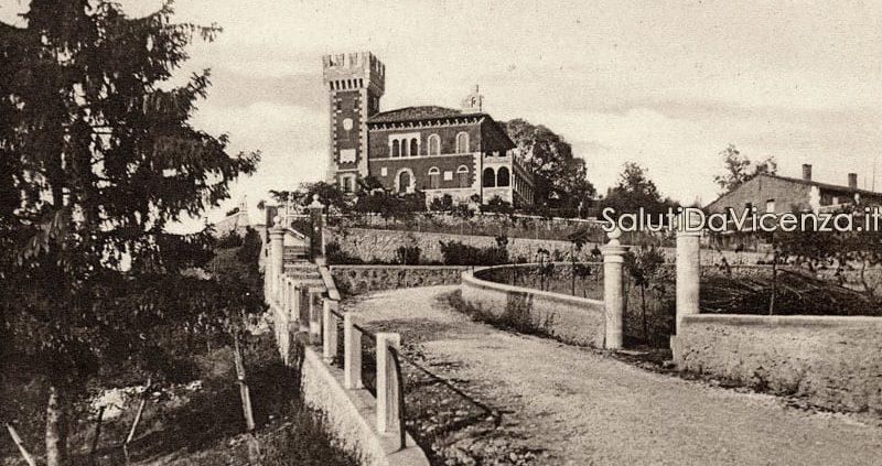 Torri di Arcugnano, Villa Monti lungo la strada Bisortole.