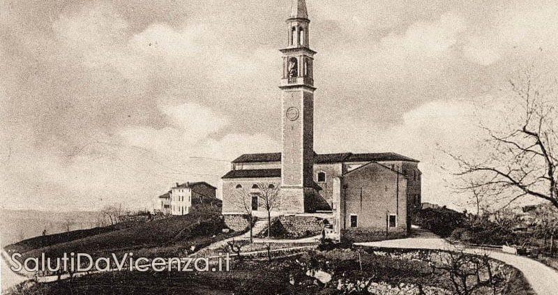Chiesa parrocchiale di Villabalzana, Colli Berici, Vicenza.