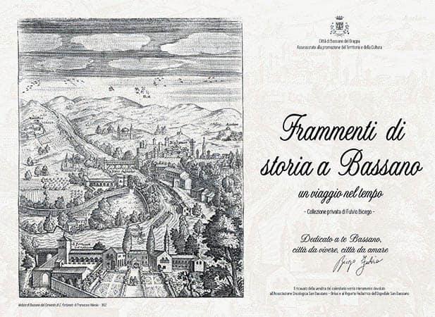 copertina del calendario frammenti di storia a Bassano