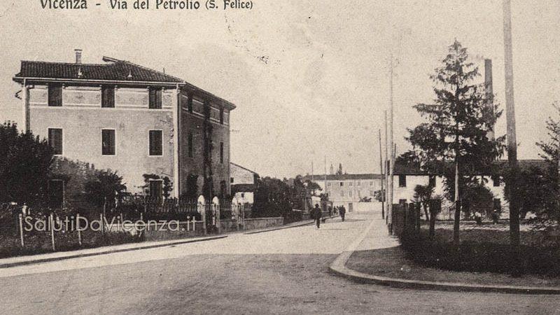 Vicenza, Via del Petrolio oggi Via Cattaneo.