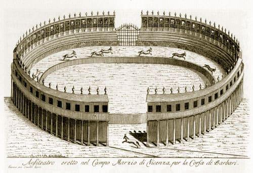 Anfiteatro in Campo Marzo, progetto dell'architetto Andrea Palladio.
