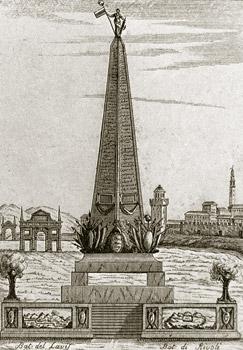 Monumento francese in Campo Marzo