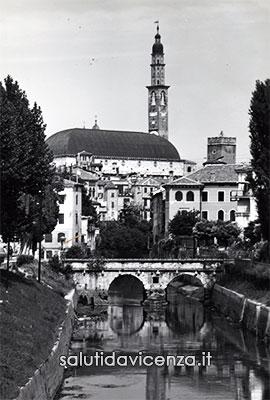 Ponte Furo sul Retrone e Basilica Palladiana
