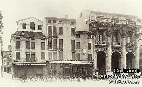 La casa natale di Giacomo Orefice e la loggia palladiana