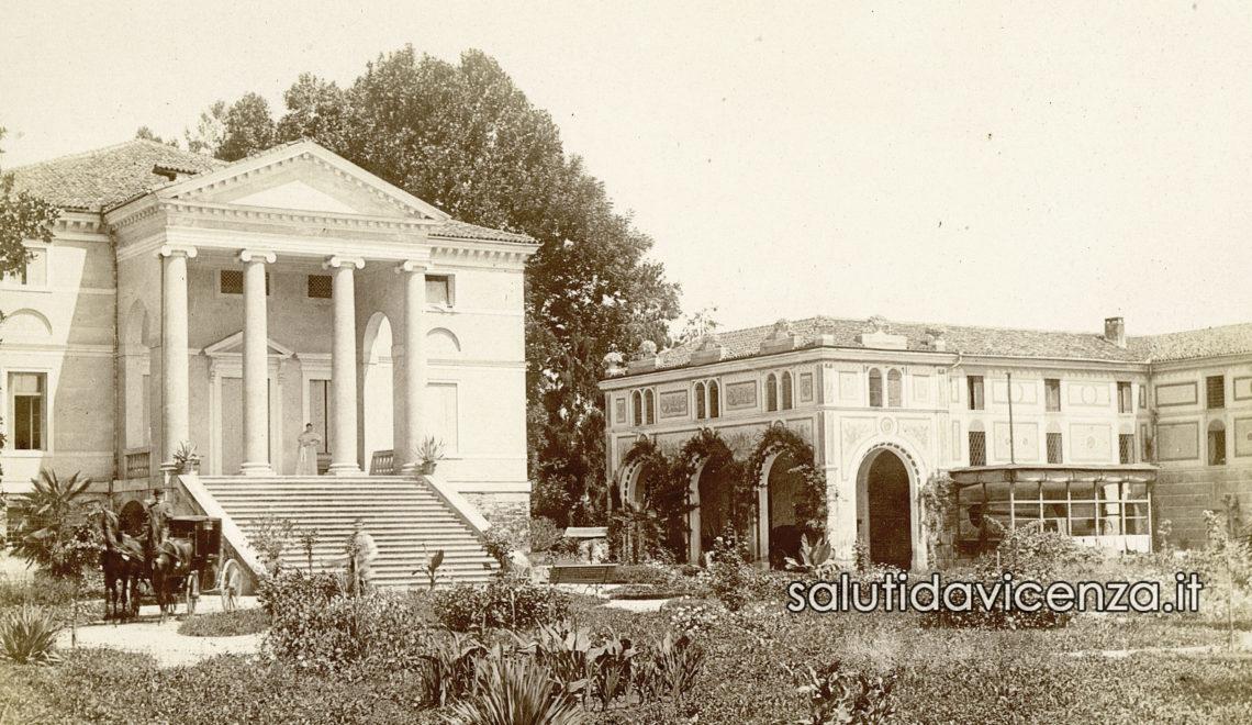 Scoperta un'antica foto di Villa Da Porto a Vivaro di Dueville
