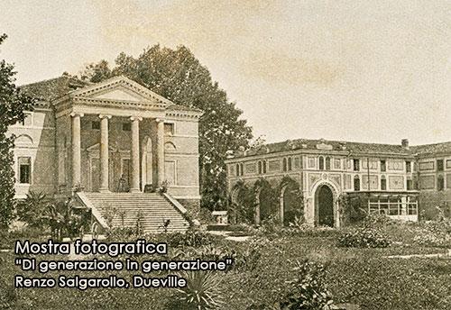 Antica cartolina postale di Villa Da Porto Pedrotti, Vivaro di Dueville