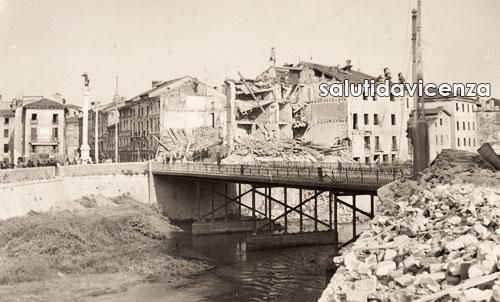Edifici distrutti dai bombardamenti del 1944