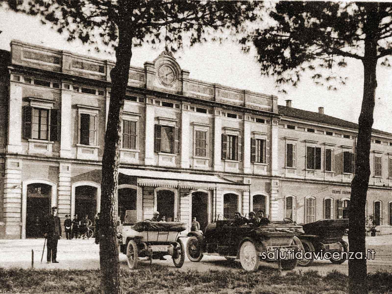 L'antica stazione ferroviaria di Vicenza