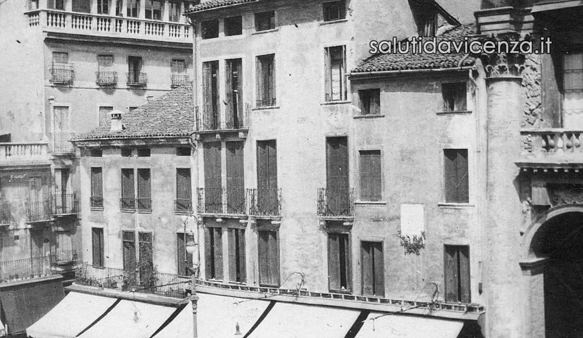 Case Orefice in piazza dei Signori a Vicenza